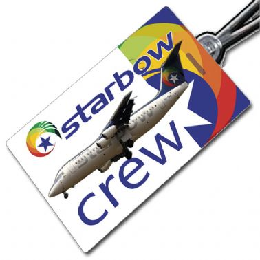 Starbow Airlines 146 Crewtag